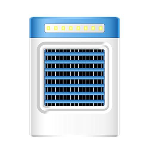 ESAILQ-Home Nueva Carga S9 Mini Ventilador de Aire Acondicionado portátil Refrigerador casero Refrigerador UE