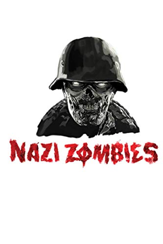 WWII Nazi Zombies Soldier Spiral Notebook: (110 Pages, Lined, 6 x 9)