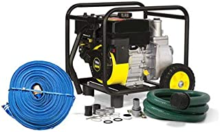 Wildfire Rooftop Sprinkler Giant Soaker Hose and Pump Kit