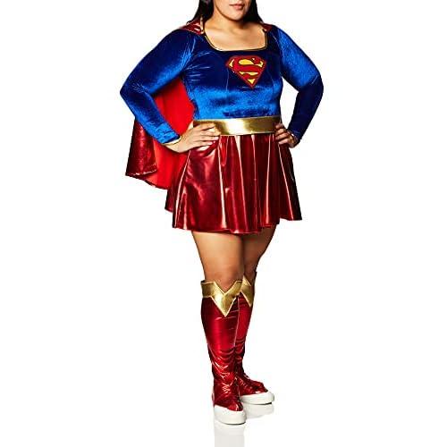 Rubie's, costume ufficiale Supergirl per adulti, taglia unica.