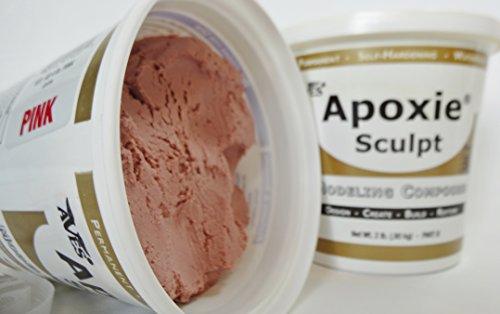Apoxie Sculpt 4 Lb. Epoxy Clay - Pink
