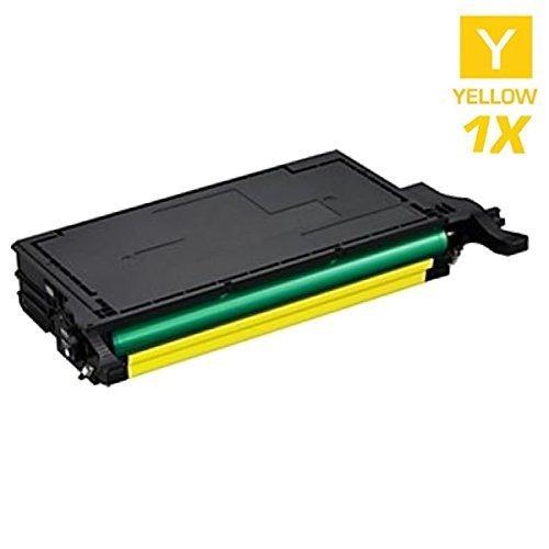 SCHNEIDERPRINTWARE Toner mit 25% mehr Druckleistung kompatibel zu CLT-Y5082L Gelb Yellow 5.000 Seiten für Samsung CLP-620ND CLP-670N CLP-670ND CLX-6220FX CLX-6250FX