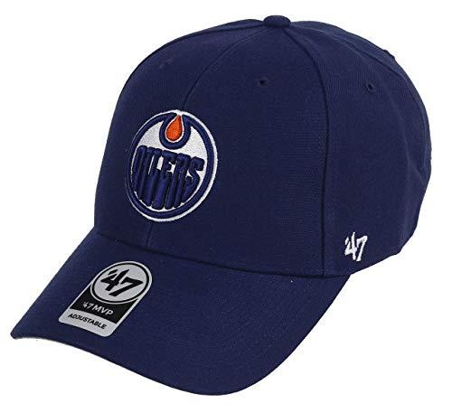 '47 Edmonton Oilers Adjustable Cap MVP NHL Light Navy - One-Size