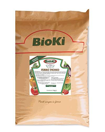 Solfato di ferro monoidrato, busta da 8 kg, ideale per coltivazioni Bio