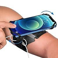【Universelle Kompatibilität】 - VUP Joggen Armband ist aus hochwertiges Silikon gemacht, kompatibel mit den meisten Smartphones, die mit Bildschirm zwischen 4 und 6,7 Zoll, wie iphone 12, iphone 12 pro,iphone 12 pro max, iphone 11, iphone 11 pro, sams...