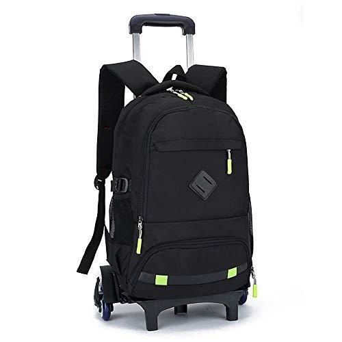 ShiSyan Hiking Backpacks, Student Backpack,Rolling Backpack Wheeled Backpack for Girls and Boys School Backpack Rolling Bookbag Waterproof Backpack Travel Backpack Bag,a,Six Rounds
