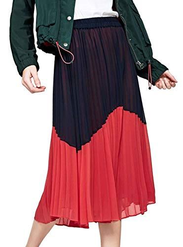 Pepe Jeans BELI Falda, Azul (Dulwich 594), Large para Mujer