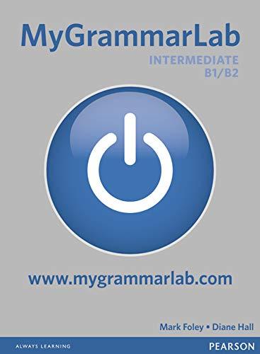 MyGrammarLab Intermediate without Key and MyLab Pack (Longman Learners Grammar)