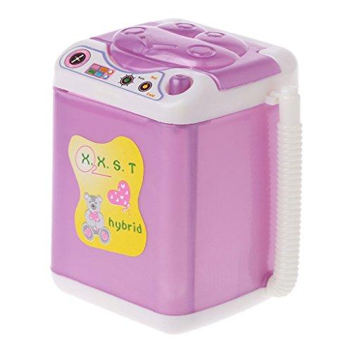 Valcano Möbel-Waschmaschine Für Barbie-Puppenhaus Baby Spielzeug Puppenzubehör