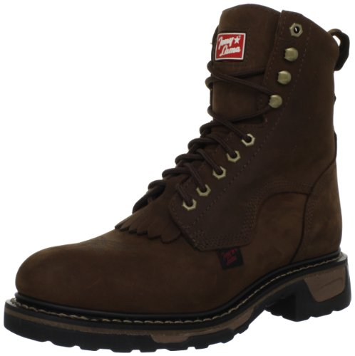 Tony Lama Men's Steel Toe Lacer TW2004 Work Boot,Tan Cheyenne,9.5 D US
