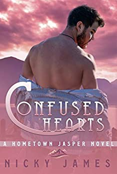 Confused Hearts: a bisexual awakening, gay romance novel (A Hometown Jasper Novel) by [Nicky James]