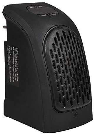 ZHICHUAN Risparmio Energetico Ventilatore Stufa Elettrica 400W Mini Ventilatore Riscaldatore Elettrico a Muro Più Caldo con Telecomando Sleeping Heater Coperta 2 Modalità Regolabile