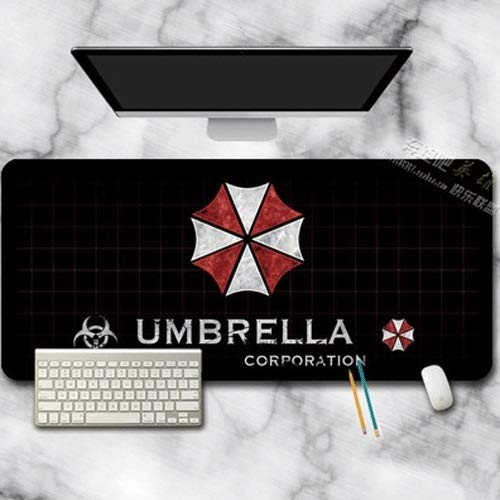 Xfwj Gaming Mouse Pad Umberlla Corporation glad oppervlak for Laptop Laser en optische muis Comfortabele Extended Grote Mouse Pad Waterdicht Toetsenbord Pad ( Size : S )