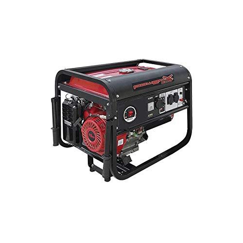 Powerx Generatore corrente 4 tempi benzina ph5500 - 5,5 kw hp 15