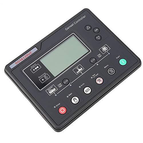 Oumefar Controlador de Grupo electrógeno DGS6120UC de Repuesto para Equipos de máquinas