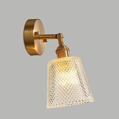Antioxidanten muur restaurant lamp eenvoudige wandlamp slaapkamer lampen E27 Edison decoratie huis creatief licht koper metaal wandlamp antiek aluminium