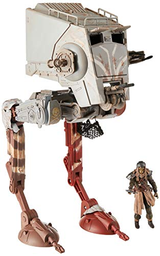 STAR WARS The Vintage Collection The Mandalorian at-ST Raider Toy Vehicle with Figure, Toys for Kids...