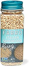 Farro Grains Traditional 12 oz Canister Packed Grocery Gourmet Foods