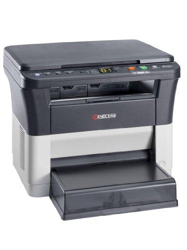 Kyocera Klimaschutz-System Ecosys FS-1220MFP 3-in-1 Laser-Multifunktionsdrucker: SW-Drucker, Kopierer, Scanner. Modus Leiser Druck
