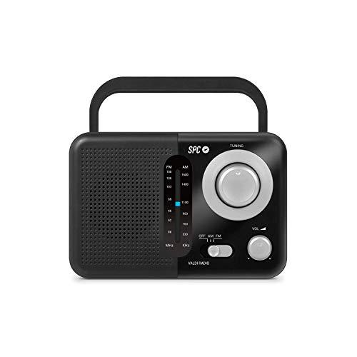 SPC Valdi Radio FM Am analógica portátil y sobremesa