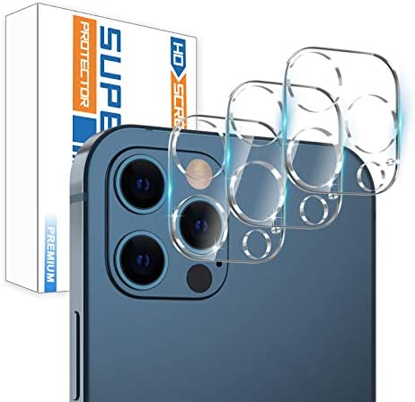 3 Pack Camera Screen Protector for iPhone 12 PRO 5G 6 1 Screen Protector Tempered Glass Case product image