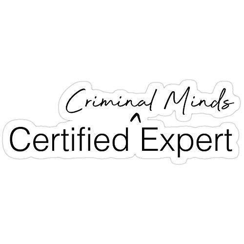 Cool Sticker For Cars, Trucks, Water Bottle, Fridge, Laptops Criminal Minds Expert Stickers (3 Pcs/Pack) 8275156551