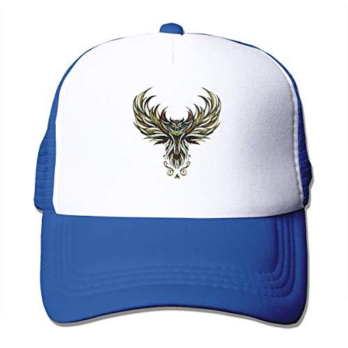 LLOOP Sport-Baseballkappe mit Adler, verstellbar, Trucker und Sonnenschutz Einheitsgröße blau