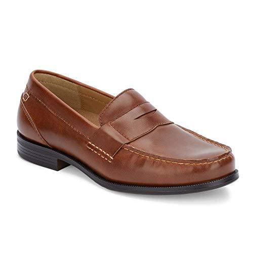 Dockers Mens Colleague Dress Penny Loafer Shoe, Tan, 10 M