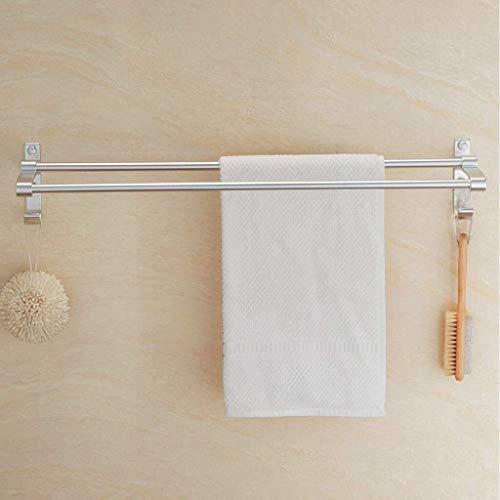 DNSJB - Estantes de baño, toallero con gancho conectado a la pared (tamaño 300 mm)