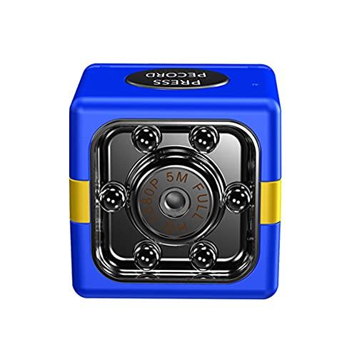CHENPENG Mini cámara espía HD 1080P, cámaras Ocultas, pequeña cámara de Seguridad encubierta, con detección de Movimiento por visión Nocturna para el hogar, el automóvil, la Oficina,Azul