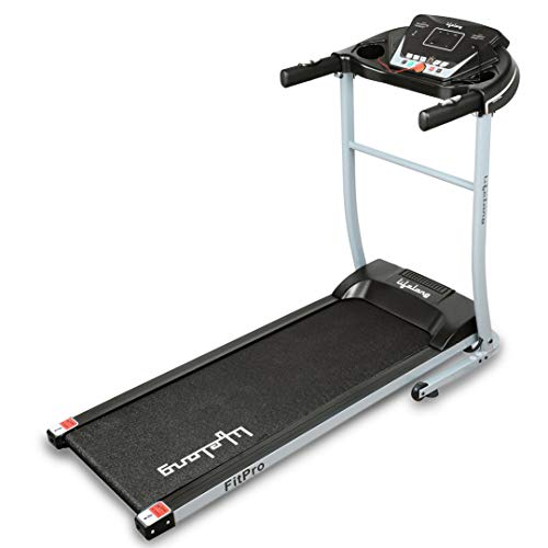 Lifelong FitPro LLTM09 (2.5 HP Peak) Motorized Treadmill for Home with 12 preset Workouts, Max Speed 10km/hr. (Free Installation Assistance)