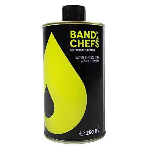 BAND OF CHEFS - Natives Olivenöl Extra Premium Qualität 250ml