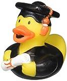 "Amscan 390966 Grad Rubber Ducky Favor | Party Favor | 1 piece Multicolor, 2"" x 2 1/4"""