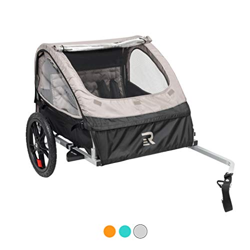 Retrospec3356 Rover Kids Bicycle Trailer Single and Double Passenger Children's Foldable Tow...