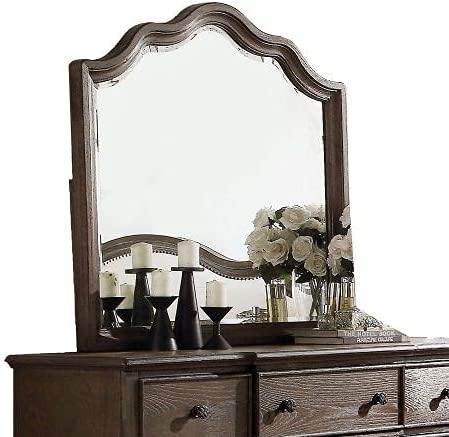 Takefuns Baudouin Mirror in I Oak 26114 Weathered Max 87% OFF Year-end annual account