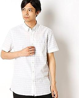 ラコステ(LACOSTE) ラコステ メンズスリムフィットチェックポプリンシャツ