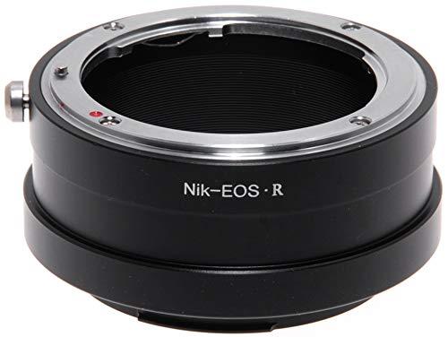 Adaptador para objetivos Nikon a cámara Canon EOS R.