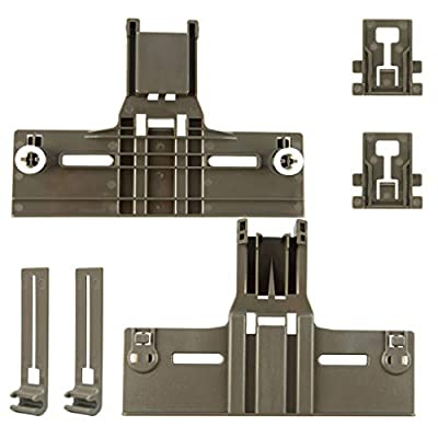 kenmore elite dishwasher top rack parts W/ 0.9 Inch Diameter W10350376 W10195840 W10195839 (6pcs) for Kitchenaid Whirlpool Kenmore Dishwasher Top Rack Parts for PS10064063 AP5956100 WPW10195839