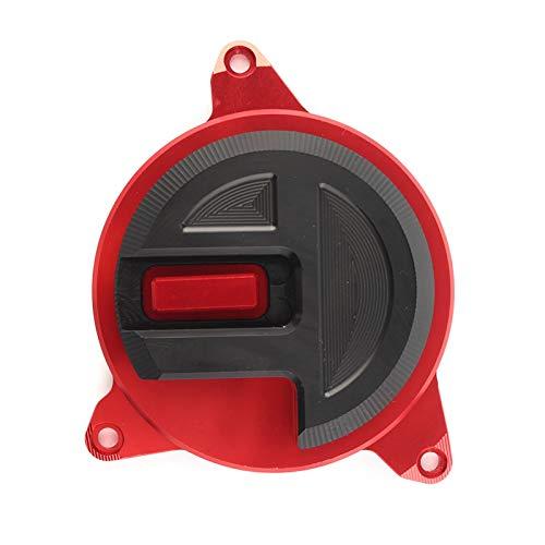 YHYPRESTER Protector de Fundas de protección del estator del Motor de la Motocicleta para Honda Forza 300 125 2018 hnyhy (Color : Red)