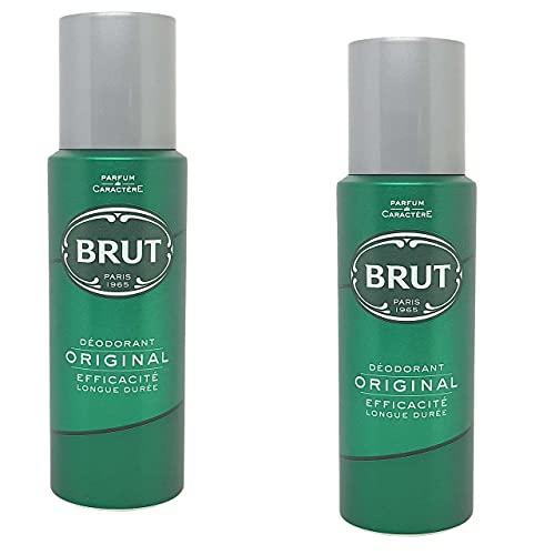 Brut Deodorante di Spray - 2 x 200 ml