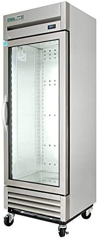 True T 19G HC FGD01 27 One Section Reach In Refrigerator 1 Right Hinge Glass Door 115v product image