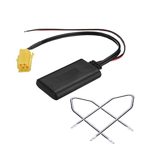 1neiSmartech Ricevitore Senza Fili Bluetooth Aux E Kit Chiavette Per Estrazione, Adattatore Compatibile Per Autoradio Blaupunkt Vari Modelli Auto, Dispositivo Per Ascolto Mp3 Smartphone