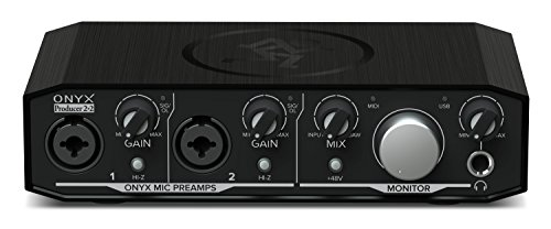 Mackie Audio Interface, Onyx Producer 2X2 USB Audio Interface with MIDI (Onyx Producer 2-2)