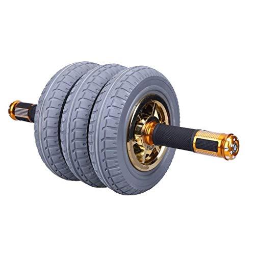 YDHWT Bauchmuskeln Wheel - for Bauch-Übung mit Kneen Pad Leicht Assembled, Beste Eignung-Roller