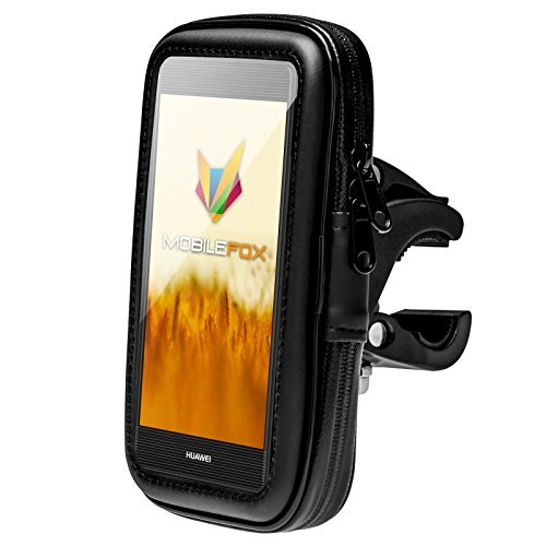 mobilefox 360° rodillo de bicicleta Soporte para manillar soporte para smartphone resistente...