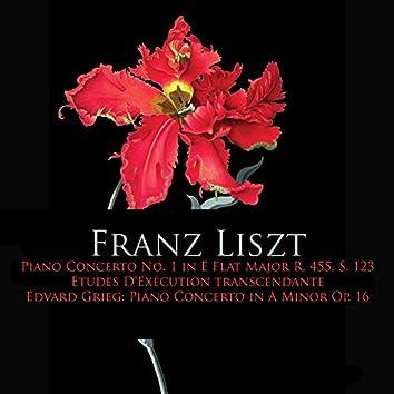 Franz Liszt: Piano Concerto No. 1 in E Flat Major, Etudes d'execution transcendante - Edvard Grieg: Piano Concerto In A Minor Op. 16