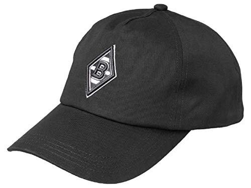 PUMA Borussia Mönchengladbach Curved Cap (one Size, Black)