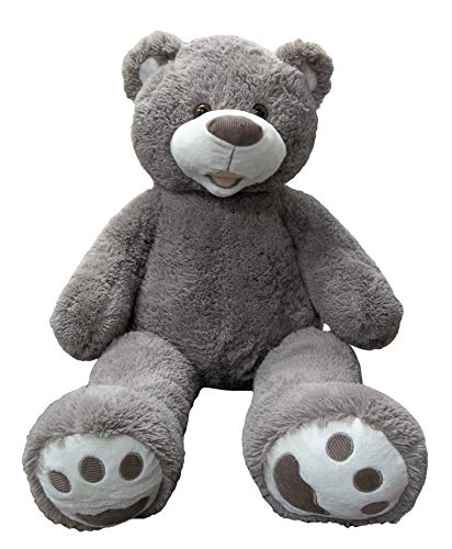 Goffa Plush Teddy Bear, 50' (Grey)