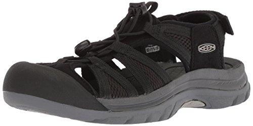 Keen Damen Venice II H2-W Sandale, Black Steel Grey, 35 EU