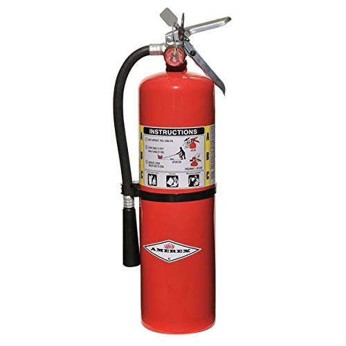 Fire Extinguisher, 4A:80B:C, Dry Chemical, 10 lb